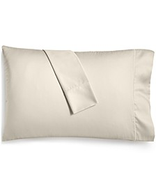 Solid Open Stock 400 Thread Count Pillowcase Pair, Created for Macy's