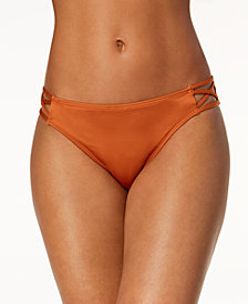 California Waves Strappy Bikini Bottoms, Created for Macy's