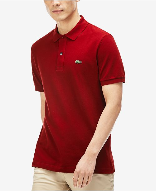85403983de Lacoste Classic Piqué Polo Shirt, L.12.12 & Reviews - Polos - Men ...