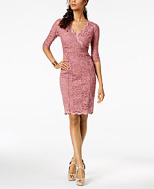 Thalia Sodi Lace Sheath Dress, Created for Macy's