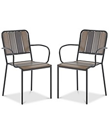 Seven Outdoor Arm Chair (Set of 2)