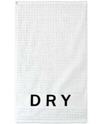 Chatter Cotton Embroidered Ribbed Hand Towel