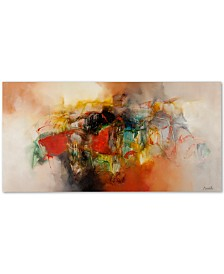 "Zavaleta 'Abstract VI' Canvas Art - 47"" x 24"""