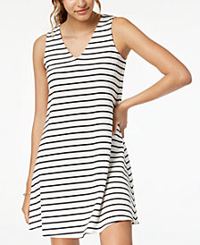 BCX Juniors' Lace-Up-Back Dress
