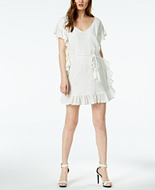 Rachel Zoe Flounce-Trim Serafina Dress