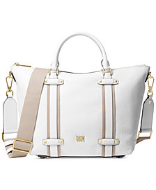 MICHAEL Michael Kors Griffin Leather Large Satchel