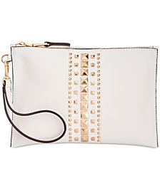 I.N.C Molyy Studded Wristlet Clutch, Created for Macy's