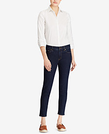 Lauren Ralph Lauren Petite Cotton Shirt