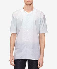Calvin Klein Men's Ombré Striped Shirt