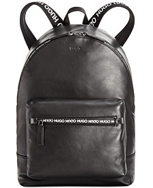Hugo Boss Men's National Leather Backpack