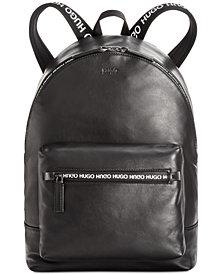 Hugo Boss Men's National Leather Backpack