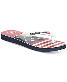 Havaianas Men's Stars and Stripes Flip Flops
