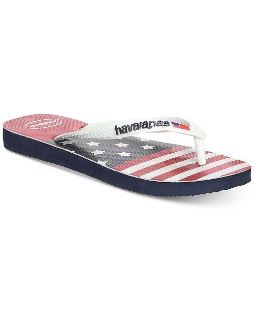 1f8e4e931 Havaianas Men s Stars and Stripes Flip Flops  Havaianas Men s Stars and  Stripes Flip ...