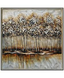 Ren Wil Metallic Forest Wall Art, Quick Ship