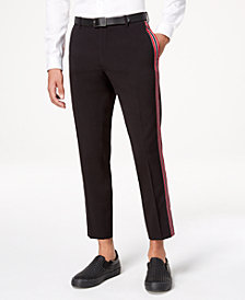 I.N.C. Men's Side-Striped Slim-Fit Suit Pants