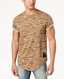 G-Star RAW Men's Shelo Camouflage-Print T-Shirt, Created for Macy's