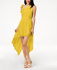 The Edit By Seventeen Juniors' One-Shoulder Dress, Created for Macy's