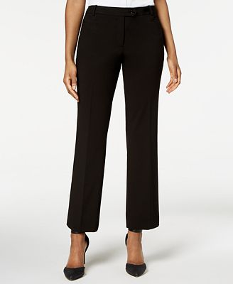 Calvin Klein Modern Fit Trousers Regular Petite Pants Women