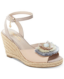 Nanette by Nanette Lepore Queen Espadrille Wedge Sandals, Created for Macy's