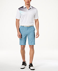 Greg Norman for Tasso Elba Men's Printed Polo & Golf Shorts, Created for Macy's