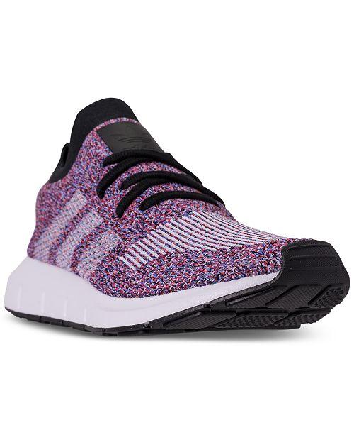b48e02c5c04c0 adidas Men s Swift Run Primeknit Casual Sneakers from Finish Line ...