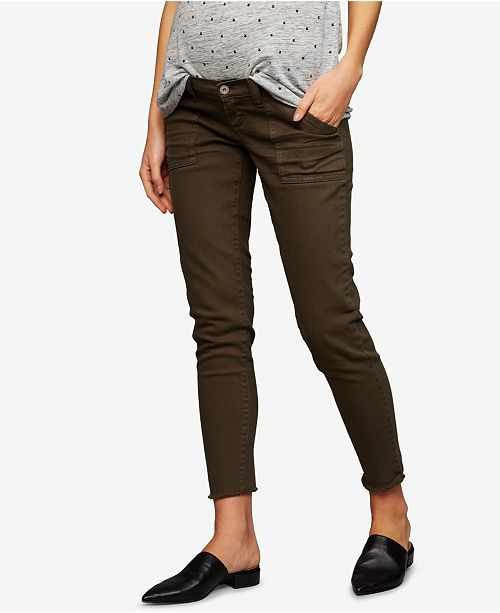 7042d10e294 A Pea in the Pod Maternity Skinny Ankle Pants - Maternity - Women ...