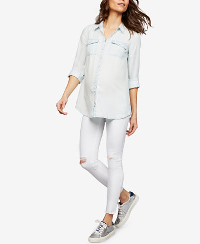 AG Jeans Maternity Skinny Ankle Jeans