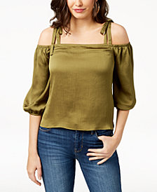 GUESS Regina Cold-Shoulder Top