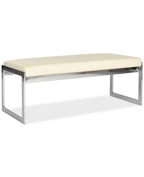 Safavieh Mantz Faux Leather Bench