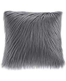 "Madison Park Edina 20"" Square Faux-Fur Decorative Pillow"