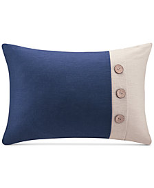 "Madison Park Colorblocked 14"" x 20"" Oblong Decorative Pillow"