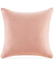"""INK+IVY Bree Chunky-Knit 26"""" Square European Pillow Cover"""