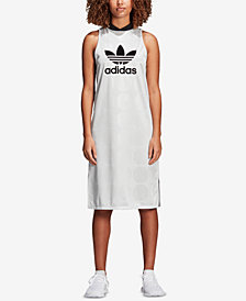 adidas Originals Fashion League Jacquard Sleeveless Dress