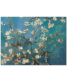 "Vincent van Gogh 'Almond Blossoms' 35"" x 47"" Canvas Wall Art"