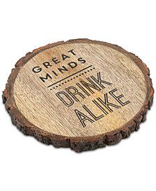 Thirstystone Great Minds Bark-Edge Coaster