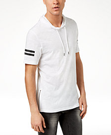 I.N.C. Men's Short-Sleeve Pullover Hoodie, Created for Macy's