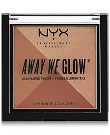 NYX Professional Makeup Away We Glow Illuminating Powder