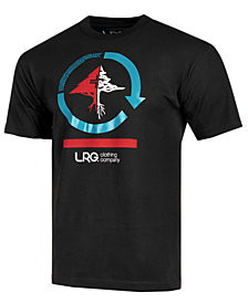 LRG Men's Cycle Mission Logo-Print T-Shirt