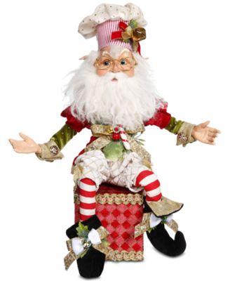 North Pole Baker Elf Stocking Holder