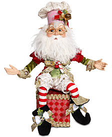 Mark Roberts North Pole Baker Elf Stocking Holder