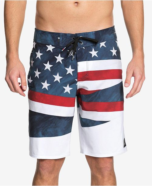 bbdc0a3f4b ... Quiksilver Men's Highline Freedom Graphic-Print 20
