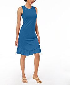 Maison Jules Ruffled-Hem A-Line Dress, Created for Macy's