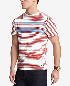 Tommy Hilfiger Men's Colorblocked Stripe T-Shirt, Created for Macy's