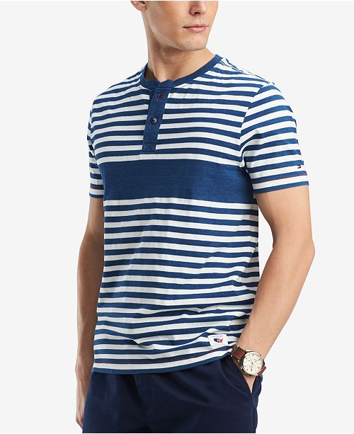 d5aa42461 Tommy Hilfiger Men's Cassidy Henley, Created for Macy's - T-Shirts ...