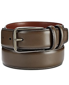 Portfolio Men's Old English Leather Belt