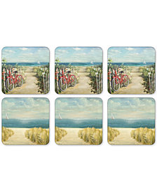 Pimpernel Summer Ride Coasters, Set of 6