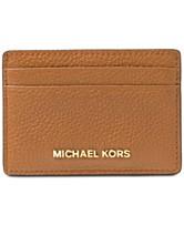 53ff7a32066b MICHAEL Michael Kors Pebble Leather Card Holder