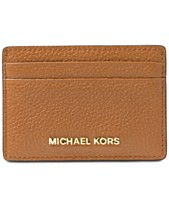 bb27628dfc92 MICHAEL Michael Kors Pebble Leather Card Holder