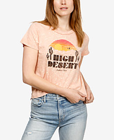 Lucky Brand Cotton Graphic-Print T-Shirt, Created for Macy's