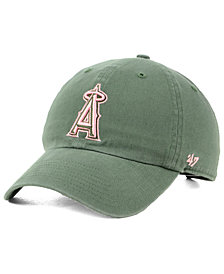 '47 Brand Los Angeles Angels Moss Pink CLEAN UP Cap